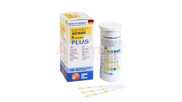 Bandelette urinaire CombiScreen 5+leuko
