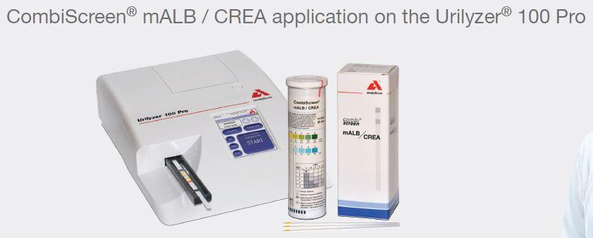 bandelette de test micro albumine pour détection des problèmes rénaux